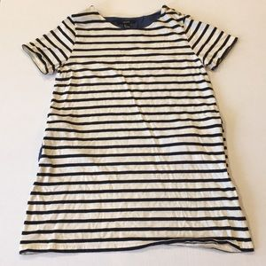 FOREVER 21 | Stripe Nautical Dress navy/white Sz L
